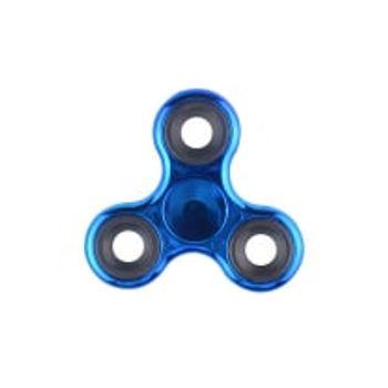 Fidget Spinner Electroplated Dark Blue