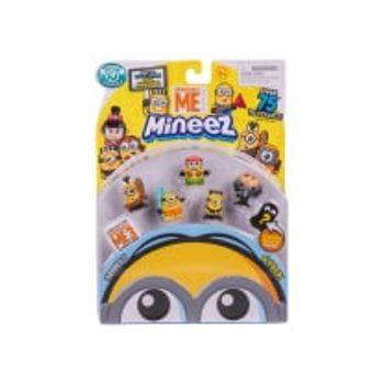 Μίνι Φιγούρες Minions Despicable Me Mineez (6 Τεμάχια)