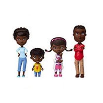 Σετ Doc McStuffins Οικογένεια με Φιγούρες Μίνι