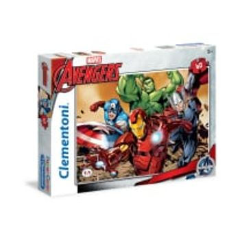 Παζλ Avengers Marvel Super Color Disney (60 Κομμάτια)