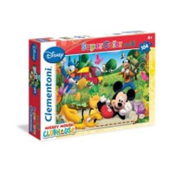 Παζλ Mickey Mouse Club House Super Color Disney (104 Maxi Κομμάτια)