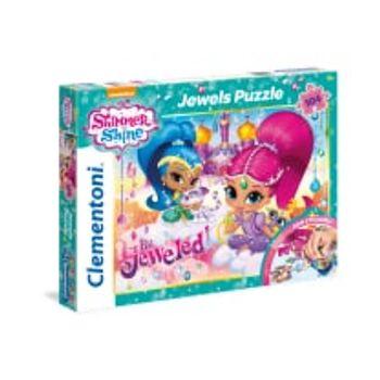 Παζλ Shimmer and Shine Jewels Super Color Disney (104 Κομμάτια)