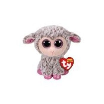 Λούτρινο Πρόβατο Γκρι 15cm TY Beanie Boos