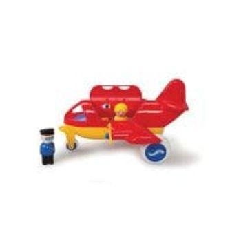 Αεροπλάνο Jumbo 25cm με 2 Φιγούρες