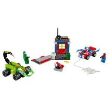 LEGO® Αναμέτρηση Σπάιντερ Μαν εναντίον Scorpion στο Δρόμο