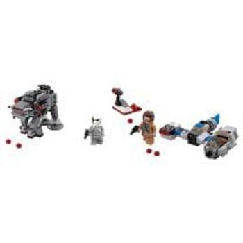 LEGO® Ski Speeder™ εναντίον Πρώτου Τάγματος Walker™ Microfighters