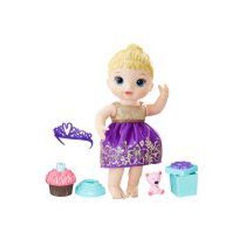 Κούκλα Baby Alive Cupcake Birthday Baby με Ξανθά Μαλλιά