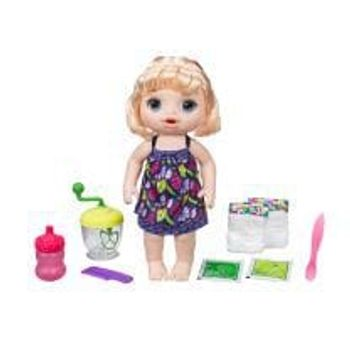 Κούκλα Baby Alive Sweet Spoonfuls με Ξανθά Μαλλιά
