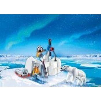 PLAYMOBIL 9056 Εξερευνητικό Αρκτικής και Πολικές Αρκούδες