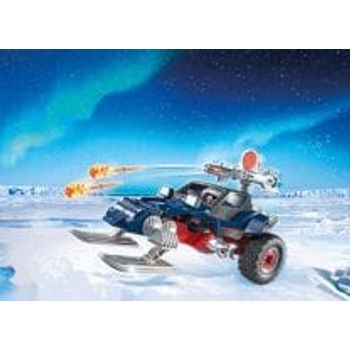 PLAYMOBIL 9058 Πειρατής του Πάγου με Όχημα Χιονιού