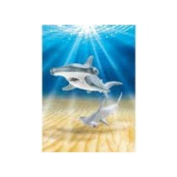 PLAYMOBIL 9065 Σφυροκέφαλος Καρχαρίας με το Μικρό του