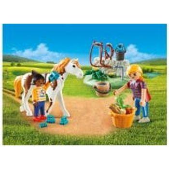 PLAYMOBIL 9100 Βαλιτσάκι Φροντίζοντας Τα Άλογα