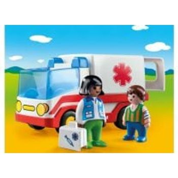PLAYMOBIL 9122 Γιατρός και Ασθενοφόρο