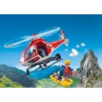 PLAYMOBIL 9127 Ελικόπτερο Διάσωσης Ορειβατών