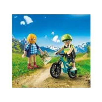 PLAYMOBIL 9129 Ποδηλάτης και Ορειβάτης