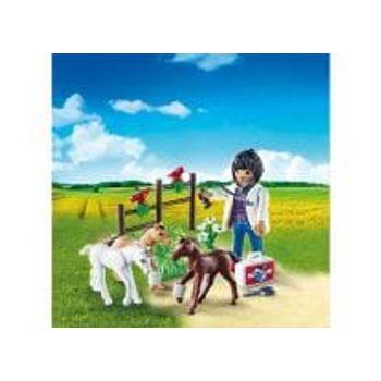 PLAYMOBIL 9207 Κτηνίατρος με Αλογάκια