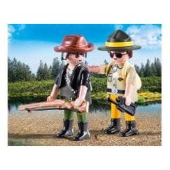 PLAYMOBIL 9217 Duo Pack Δασοφύλακας και Κυνηγός