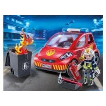 PLAYMOBIL 9235 Μικρό Όχημα Πυροσβεστικής με Πυροσβέστη