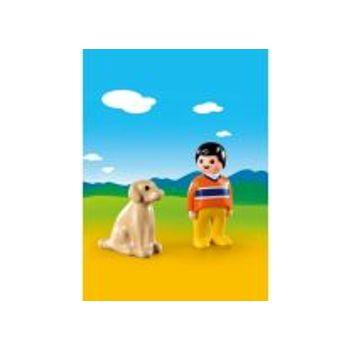 PLAYMOBIL 9256 Αγόρι με Σκυλάκι