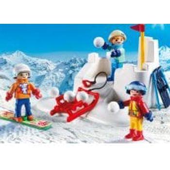 PLAYMOBIL 9283 Παιχνίδια στο Χιόνι