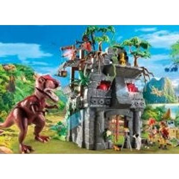 PLAYMOBIL 9429 Αρχηγείο των Explorers και T-Rex