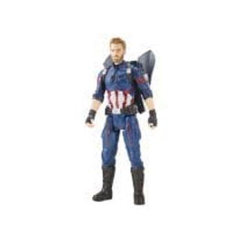 Φιγούρα Captain America Titan Hero Power FX 12in