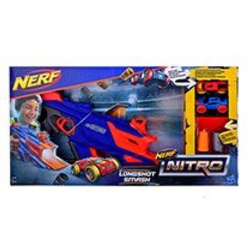 Εκτοξευτής Αυτοκινήτων NERF Nitro Longshot Smash