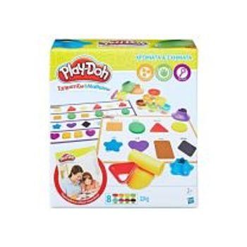 Χρώματα και Σχήματα Play-Doh