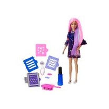 Κούκλα Barbie Μαλλιά Ουράνιο Τόξο