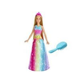 Κούκλα Barbie Πριγκίπισσα Λαμπερά Χτενίσματα