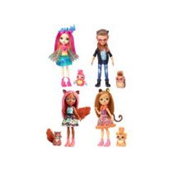 Κούκλα Enchantimals και Ζωάκι Φιλαράκι (1 Τεμάχιο)