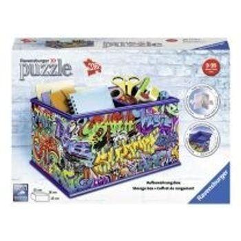 3D Παζλ Κουτί Αποθήκευσης Graffiti Ravensburger (216 Κομμάτια)