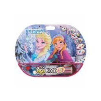 Σετ Ζωγραφικής Frozen Giga Block 5 σε 1