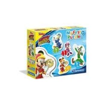 Παζλ Mickey Roadster Racers My First Puzzle (3-6-9-12 Κομμάτια)