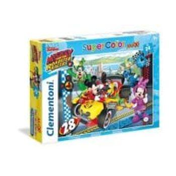 Παζλ Mickey Roadster Racers Super Color (24 Maxi Κομμάτια)