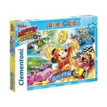 Παζλ Mickey Roadster Racers Super Color Disney (104 Κομμάτια)