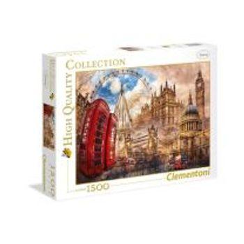 Παζλ Vintage London (1500 Κομμάτια)