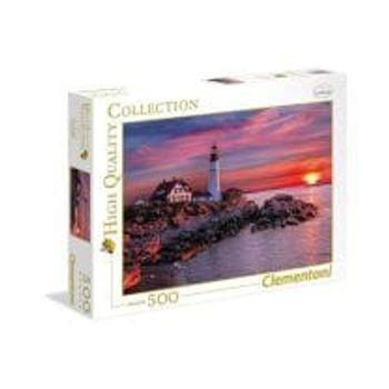 Παζλ Ηλιοβασίλεμα στο Φάρο του Πόρτλαντ High Quality Collection (500 Κομμάτια)