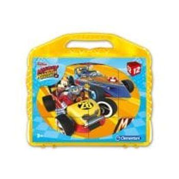 Παζλ Mickey Roadster Racers (12 Κύβοι)