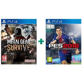 Metal Gear Survive & Pro Evolution Soccer 2018 – PS4 Game