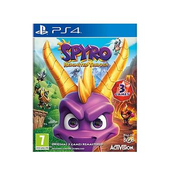 PS4 Game – Spyro Reignited Trilogy