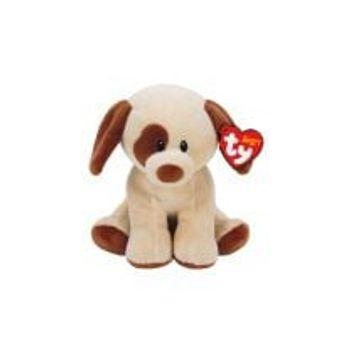 Λούτρινο Σκυλάκι Καφέ Βρεφικό 15cm