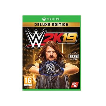 WWE 2K19 Deluxe Edition – Xbox One Game