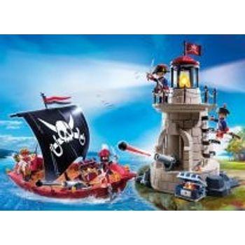PLAYMOBIL Πειρατικό Καράβι Και Φάρος
