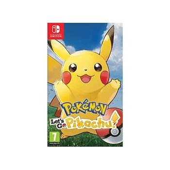 Pokemon Let's Go Pikachu! – Nintendo Switch Game
