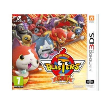 Yo-Kai Watch Blasters Red Cat- Nintendo 3DS Game