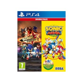 Sonic Mania Plus & Sonic Forces Double Pack – PS4 Game