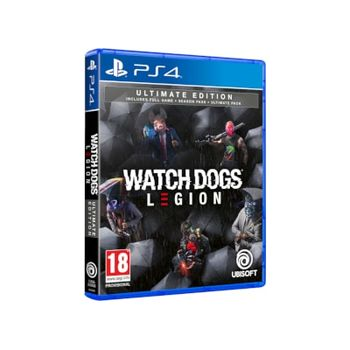 PS4 Game – Watch Dogs Legion Ultimate Edition