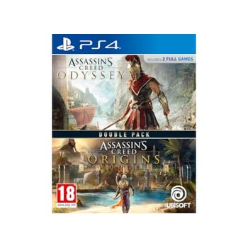 Compilation Assassin's Creed Origins & Odyssey– PS4 Game