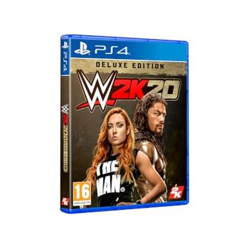 WWE 2K20 Deluxe Edition – PS4 Game